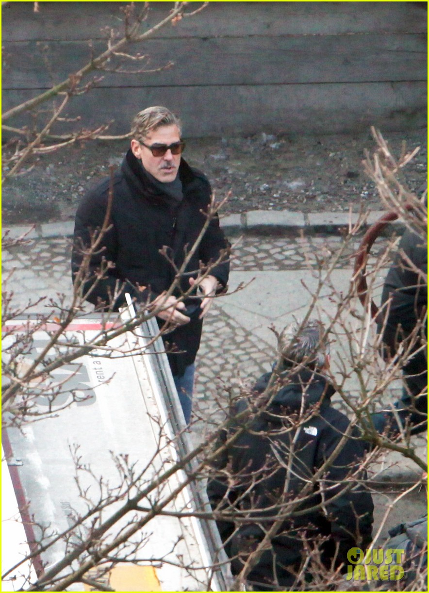 george clooney matt damon the monuments men in berlin 452843312