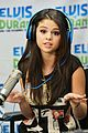selena gomez z100 visit after justin bieber kiss in norway 13