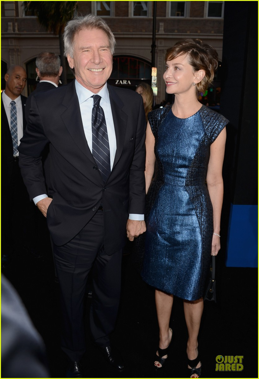 harrison ford calista flockhart 42 hollywood premiere 03
