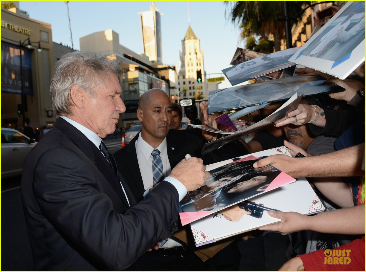 harrison ford calista flockhart 42 hollywood premiere 042846526