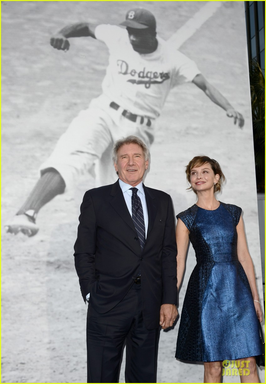 harrison ford calista flockhart 42 hollywood premiere 072846529