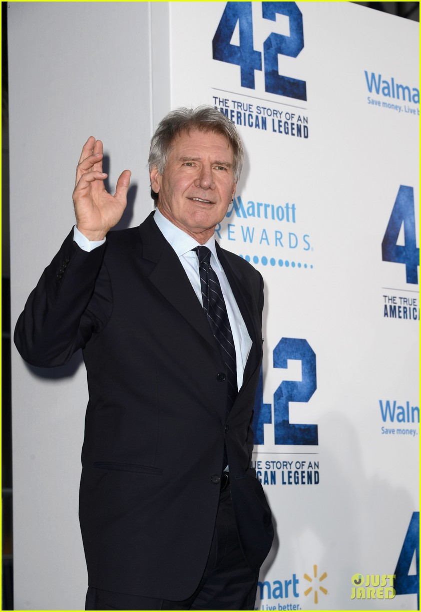 harrison ford calista flockhart 42 hollywood premiere 102846532