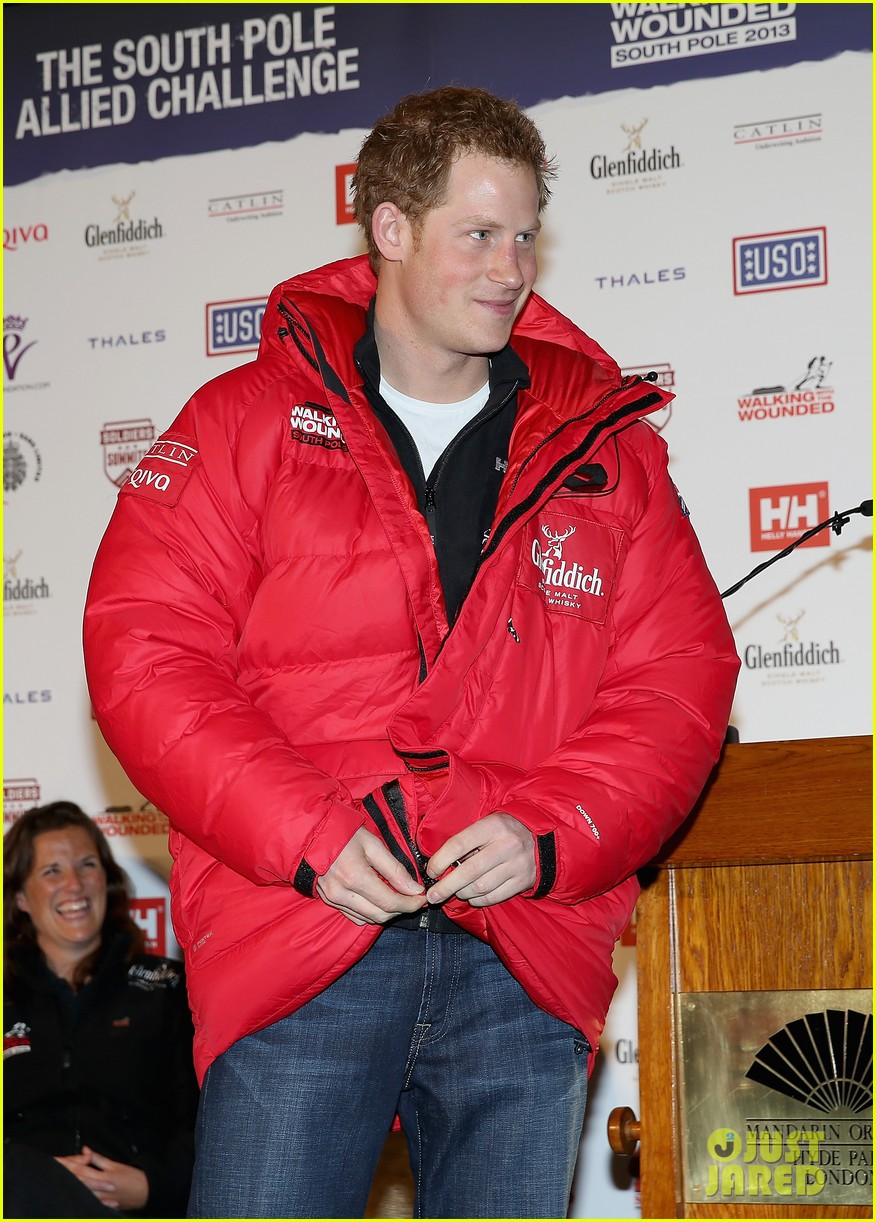 prince harry south pole bound for walking with wounded 022853508