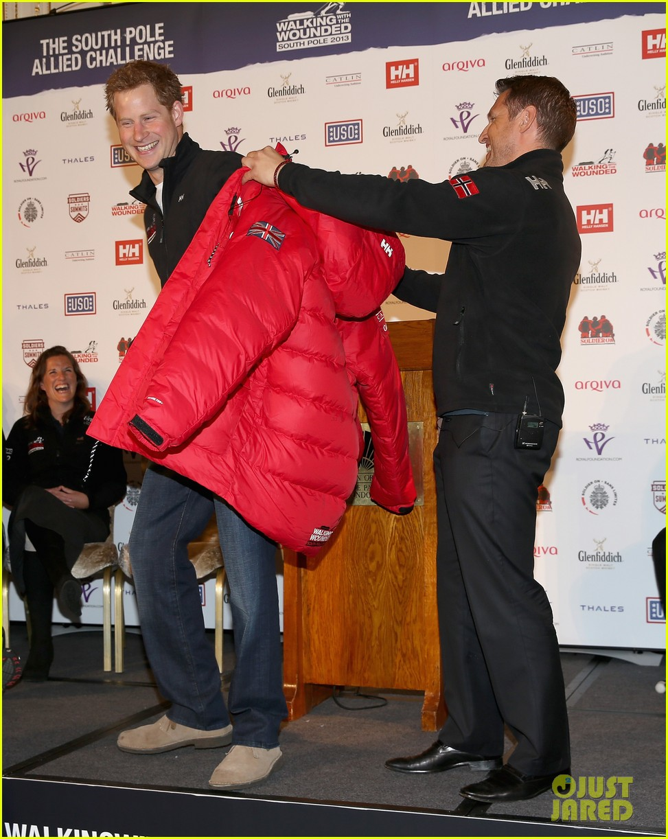 prince harry south pole bound for walking with wounded 052853511