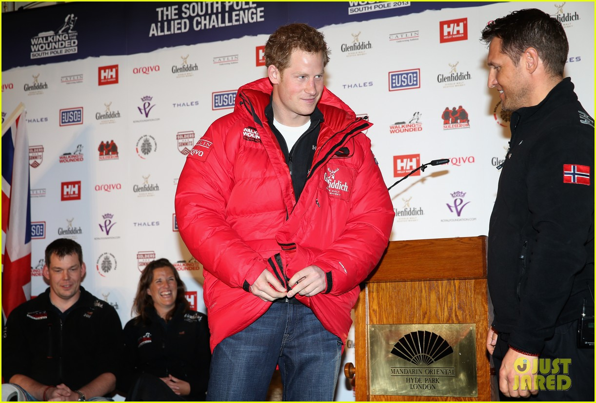 prince harry south pole bound for walking with wounded 112853517