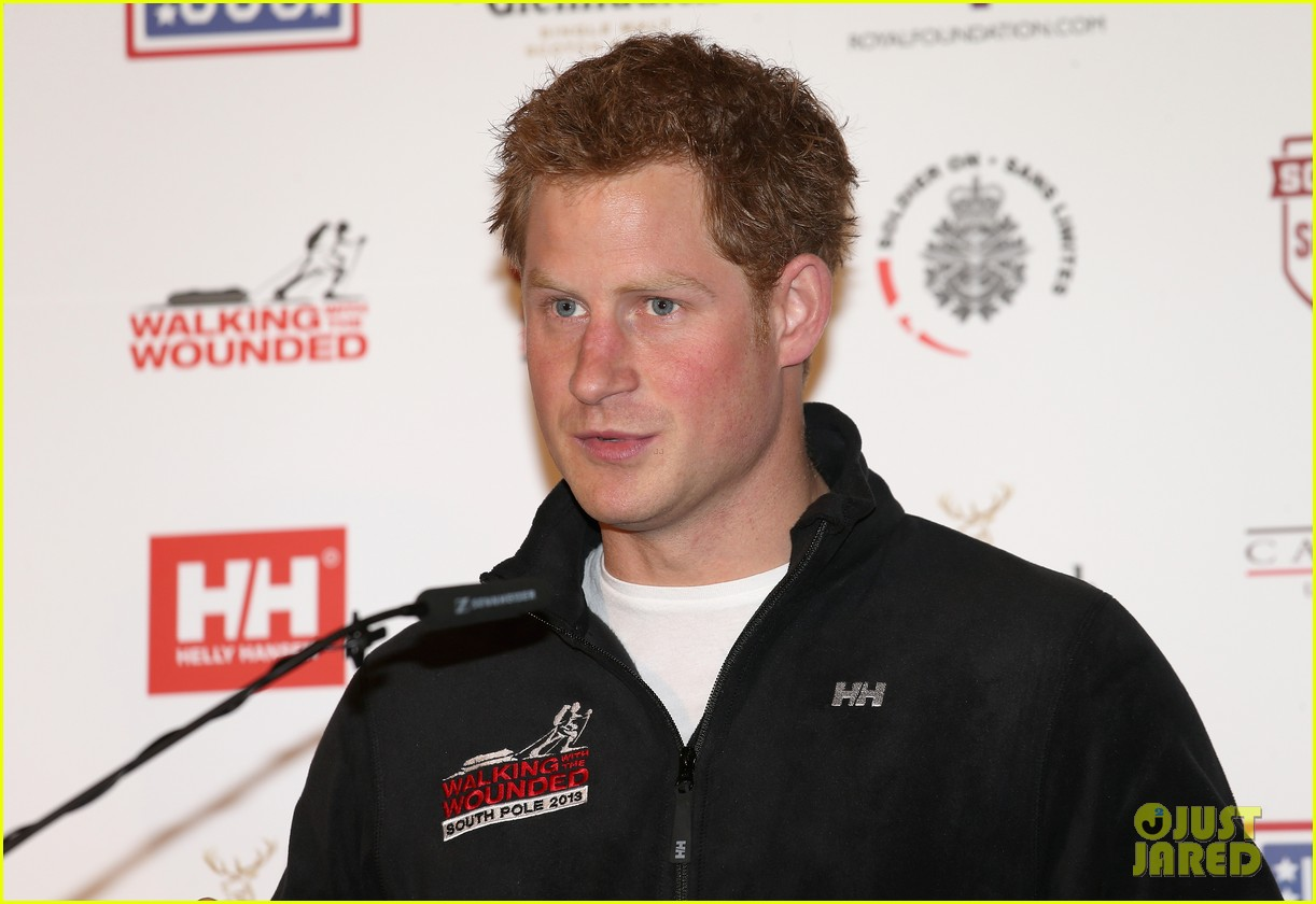 prince harry south pole bound for walking with wounded 132853519