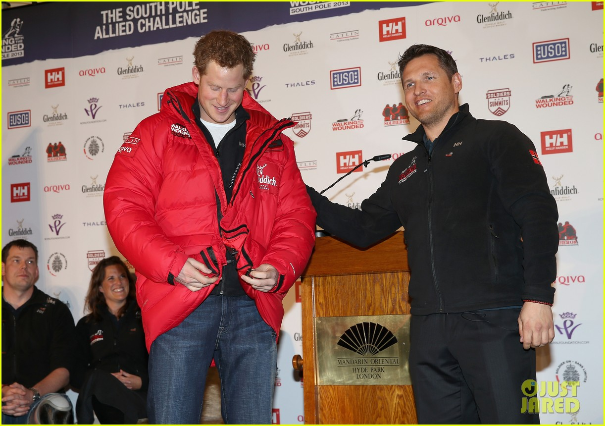 prince harry south pole bound for walking with wounded 142853520