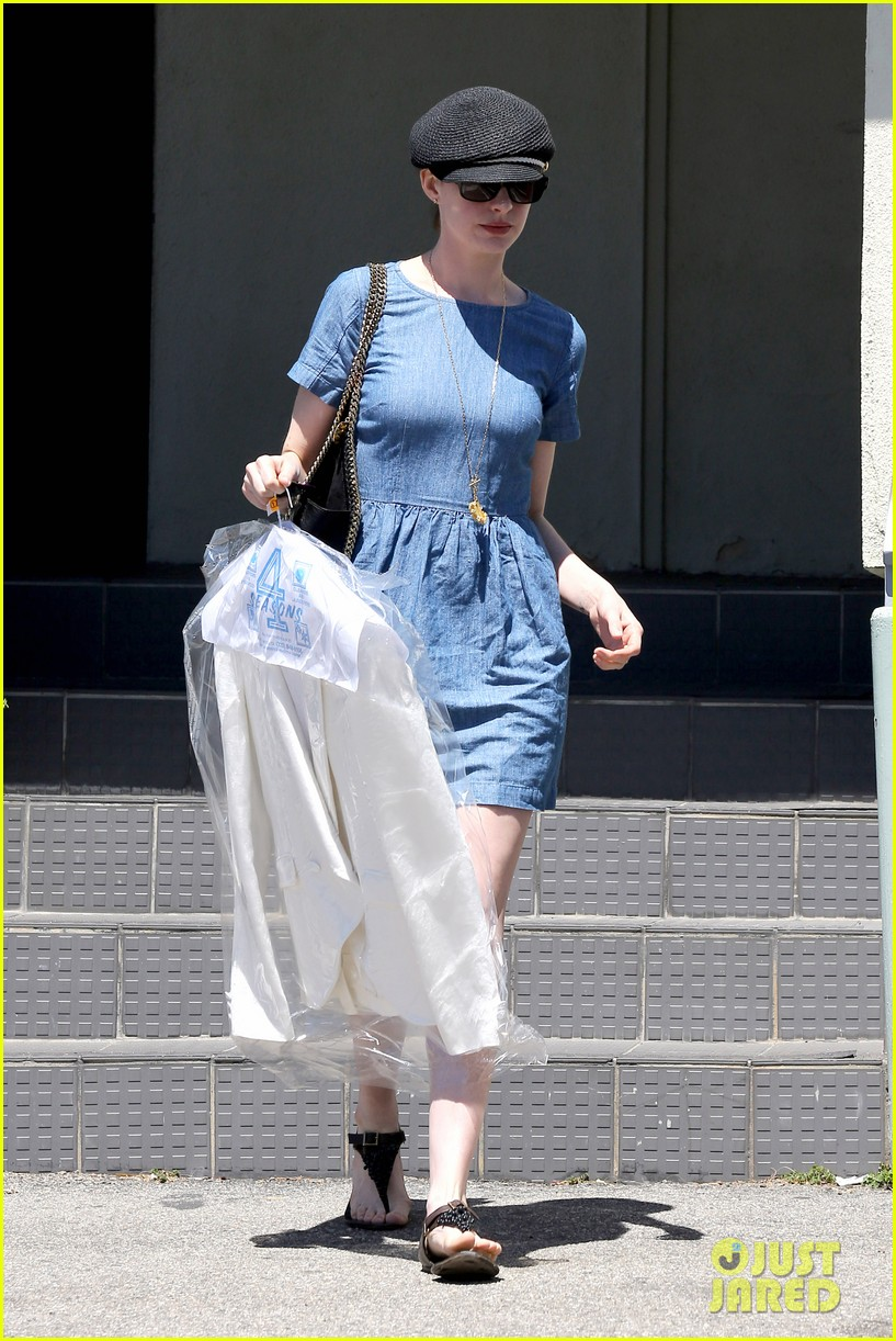 anne hathaway dry cleaning pick up 092852694