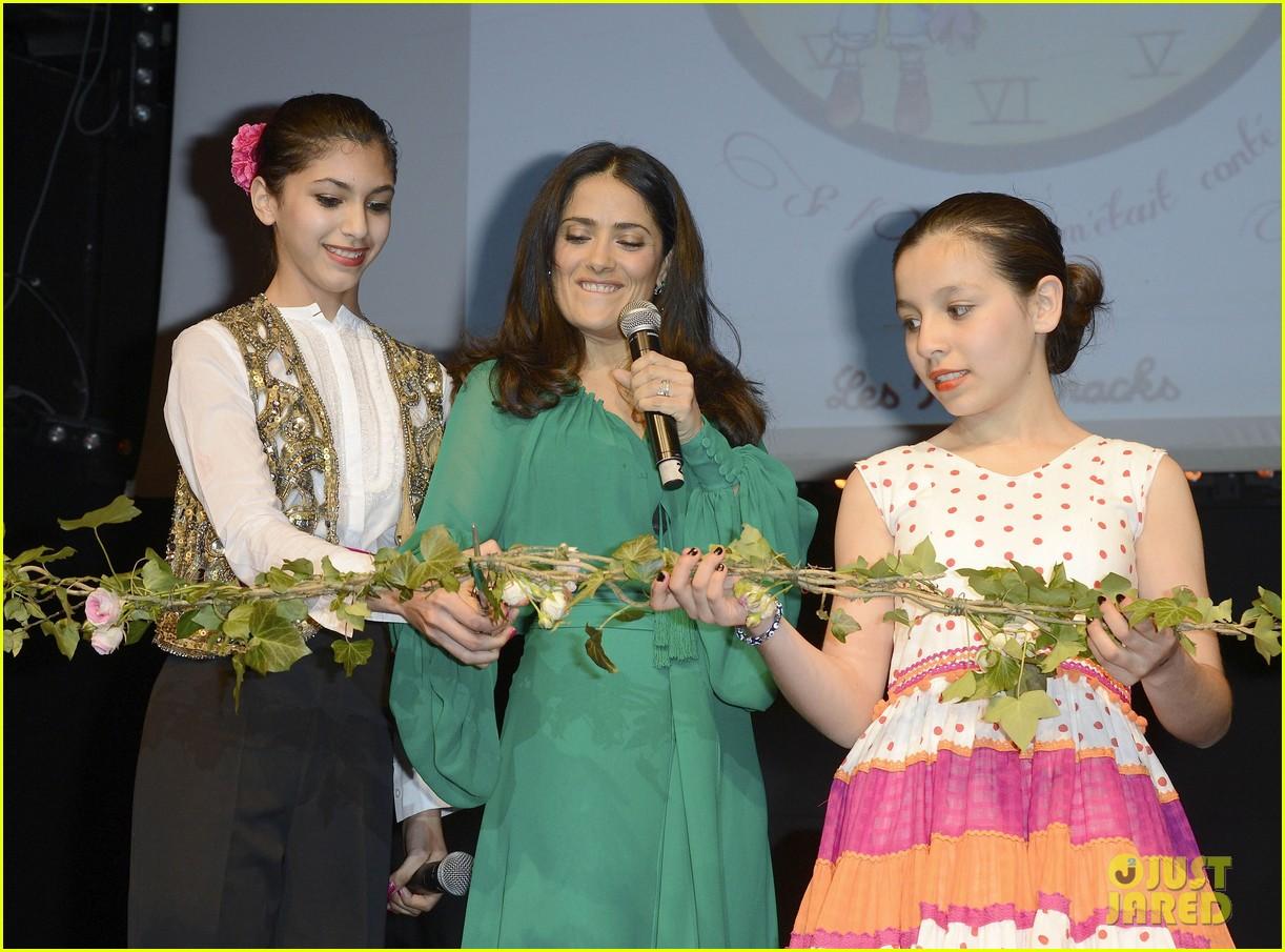 salma hayek les ptits cracks charity dinner 132858657