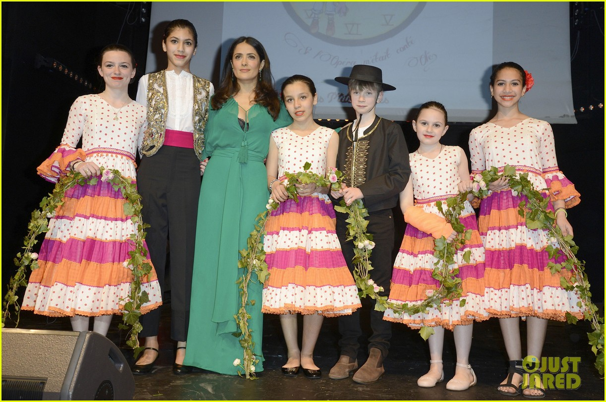 salma hayek les ptits cracks charity dinner 182858662