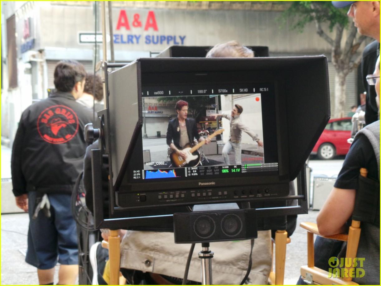 hot chelle rae hung up video exclusive set photos 022841489