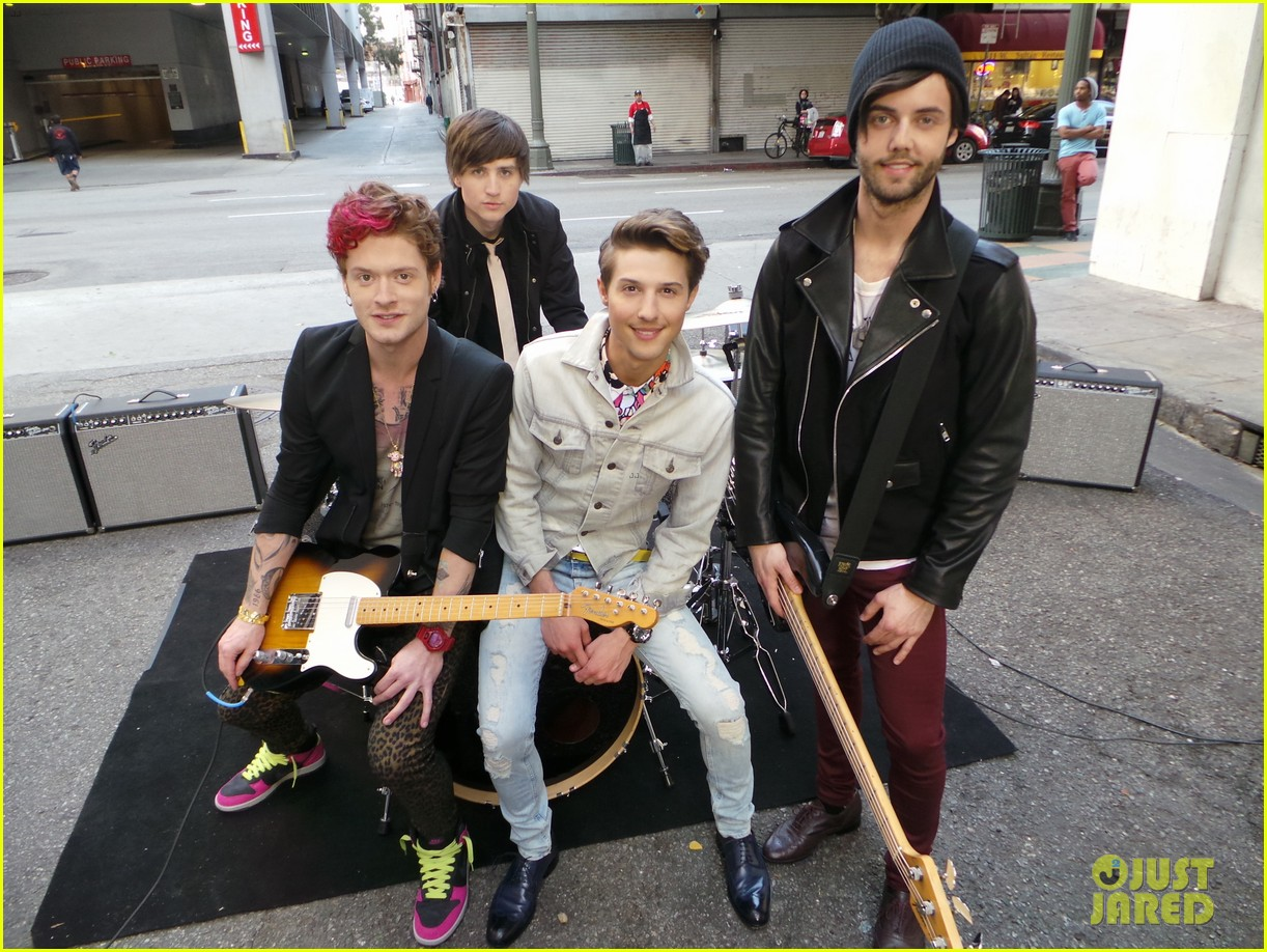 hot chelle rae hung up video exclusive set photos 032841490