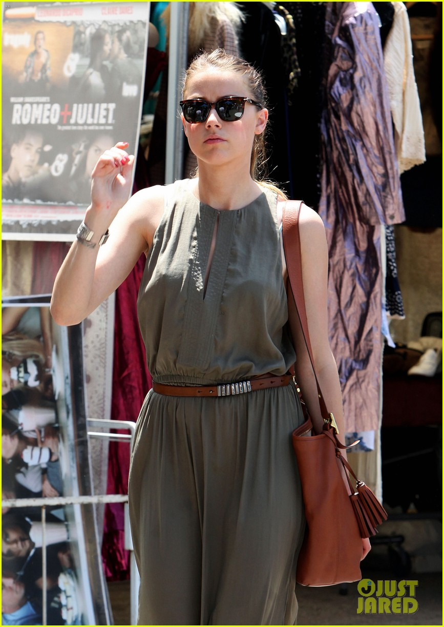 amber heard solo shopping after night with johnny depp 022860401