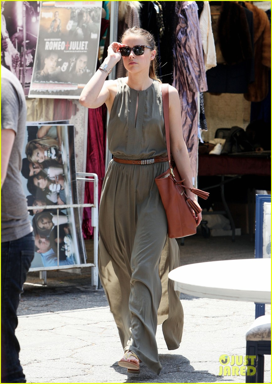 amber heard solo shopping after night with johnny depp 072860406
