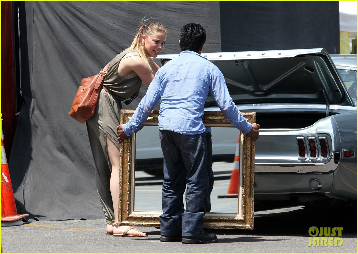 amber heard solo shopping after night with johnny depp 152860414