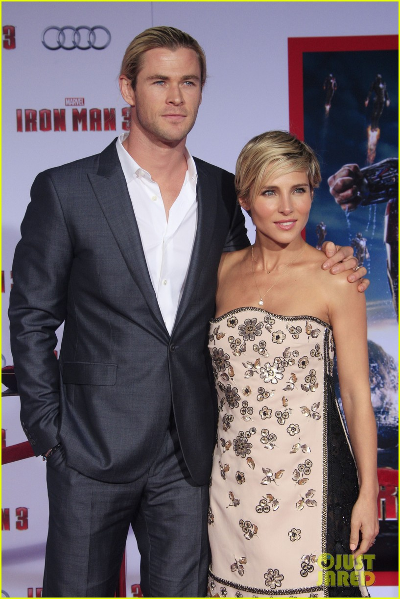 chris hemsworth tom hiddleston iron man 3 premiere 022857846