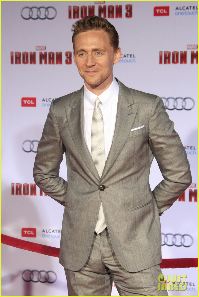 chris hemsworth tom hiddleston iron man 3 premiere 062857850