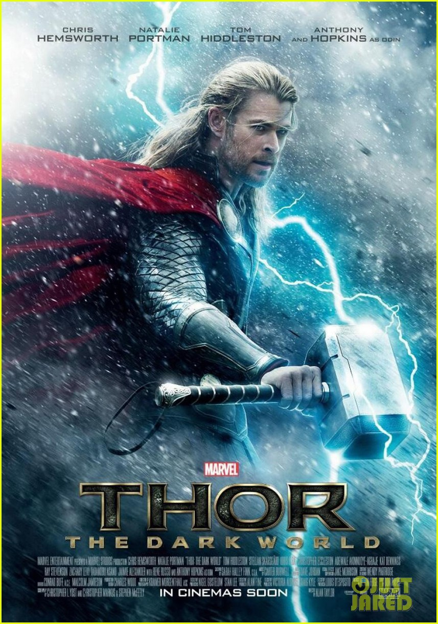 chris hemsworth thor dark world poster 01