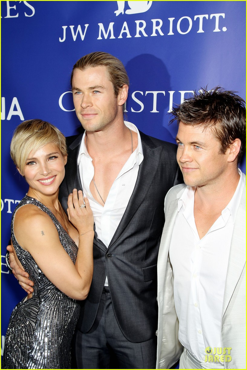 chris hemsworth elsa pataky inaugural oceana ball 022845905