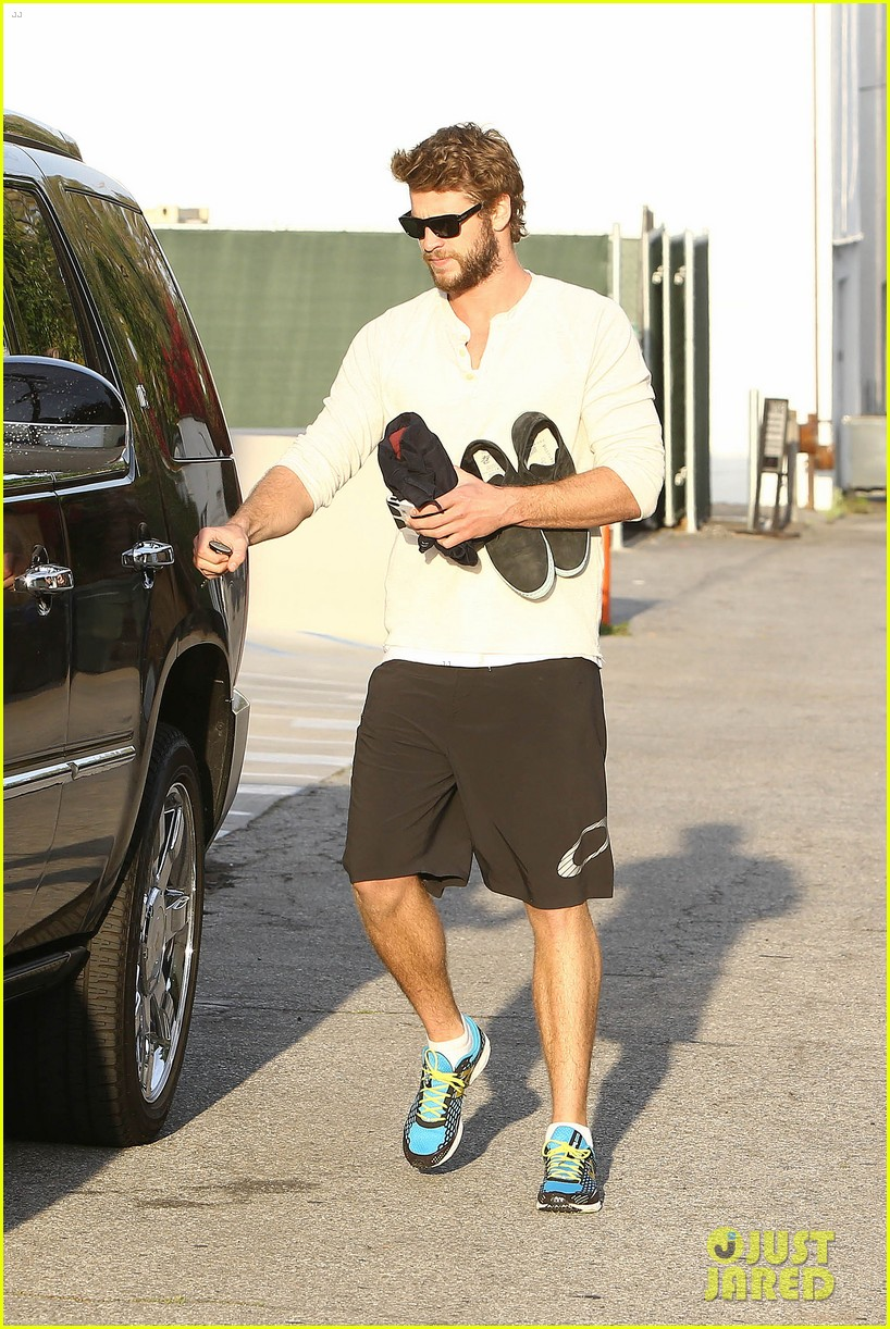 liam hemsworth steps out after the raven casting news 012842996