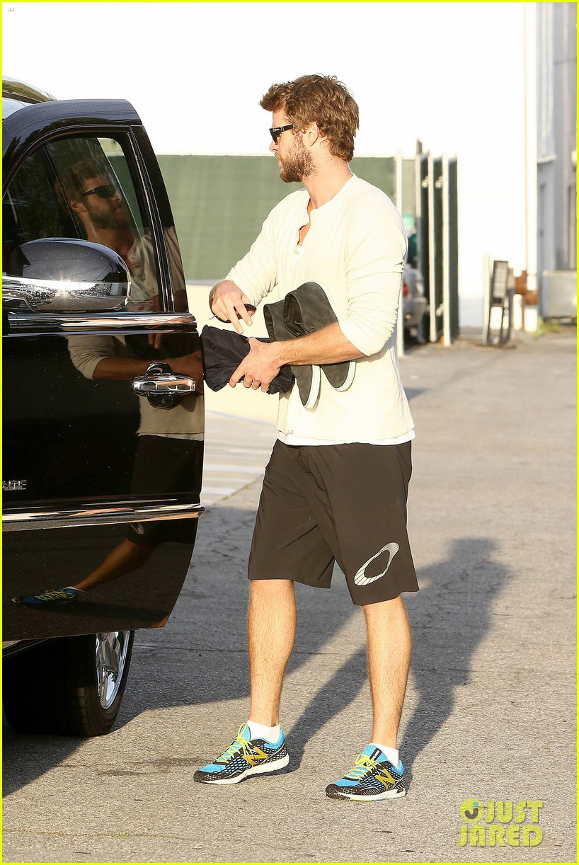 liam hemsworth steps out after the raven casting news 032842998