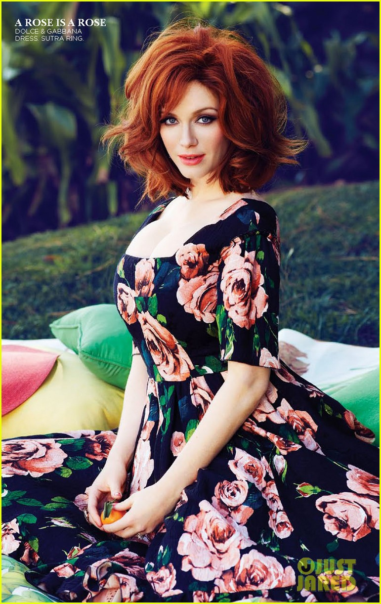 christina hendricks covers flare may 2013 042843384