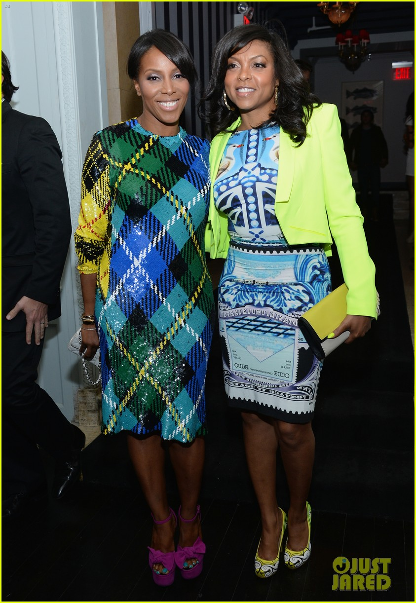 taraji p henson sterling beaumon mud nyc screening 032855509