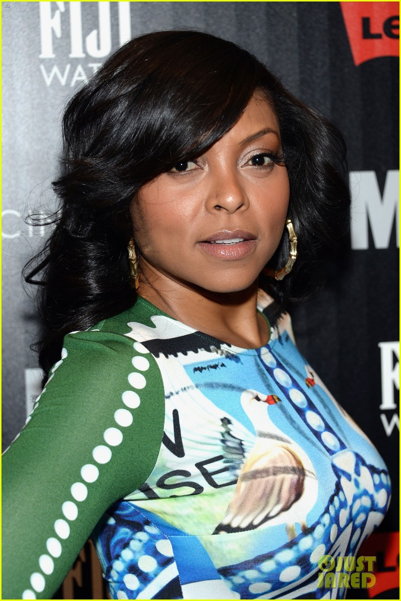 taraji p henson sterling beaumon mud nyc screening 122855518