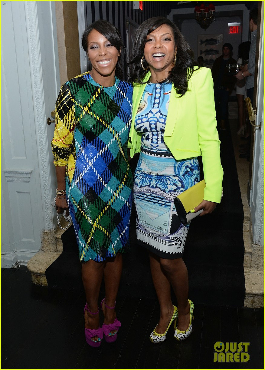 taraji p henson sterling beaumon mud nyc screening 162855522
