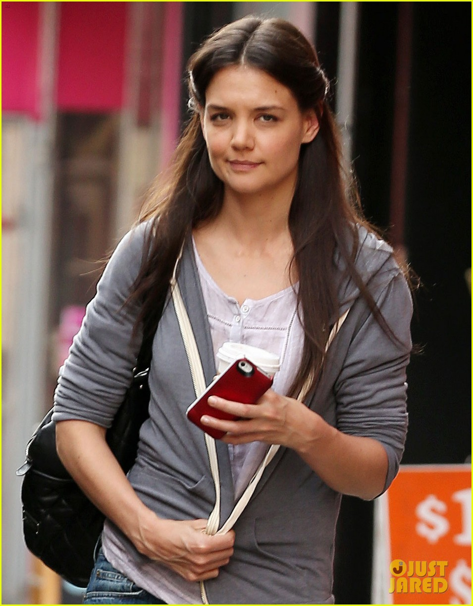 katie holmes filming new movie with spike lee 022847097