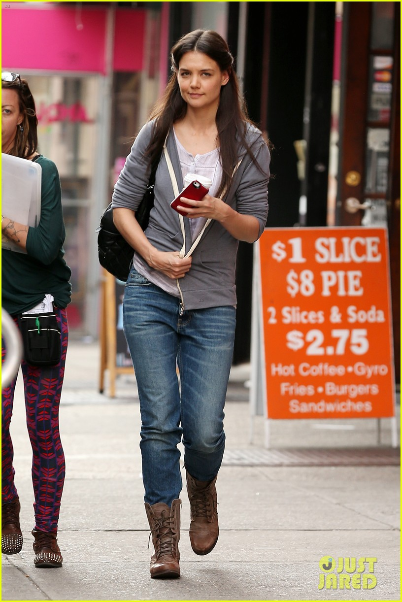katie holmes filming new movie with spike lee 052847100