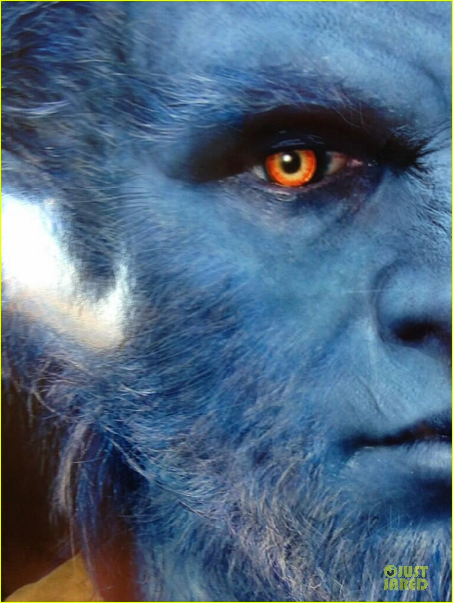 nicholas hoult xmen day of future past beast first look 052848806