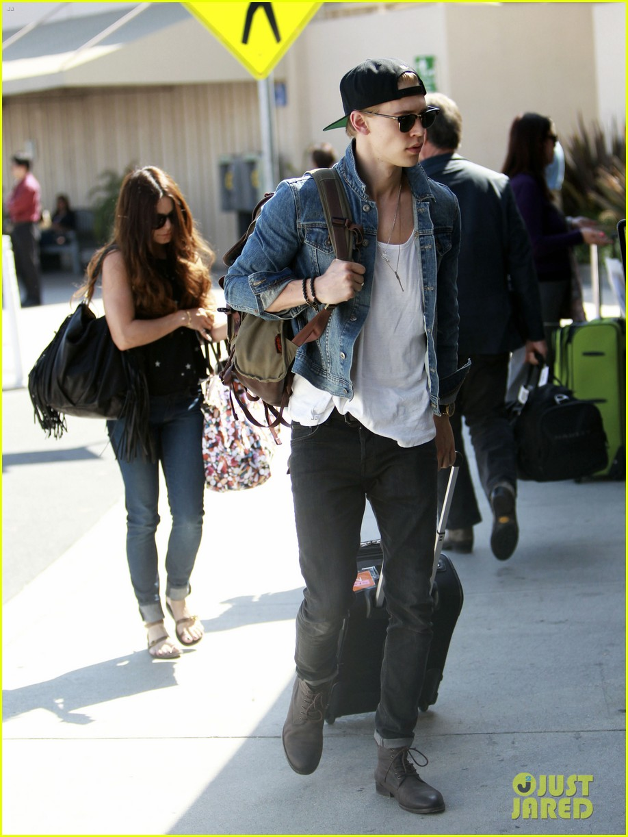 vanessa hudgens austin butler take flight in burbank 052859700