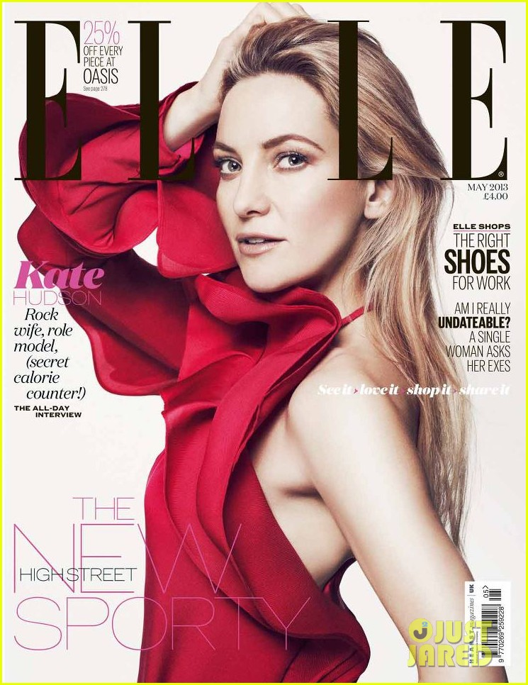 Kate Hudson Covers 'Elle 2013