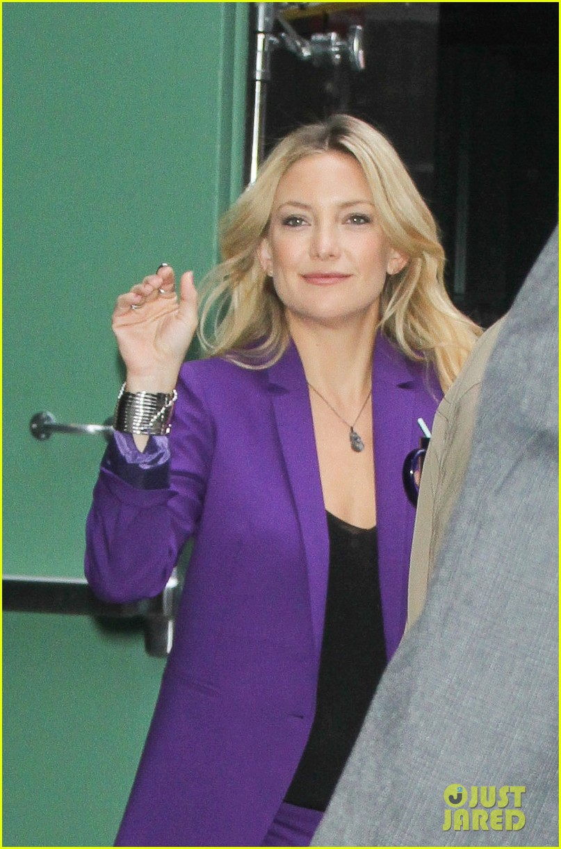 kate hudson good morning america appearance 022856557