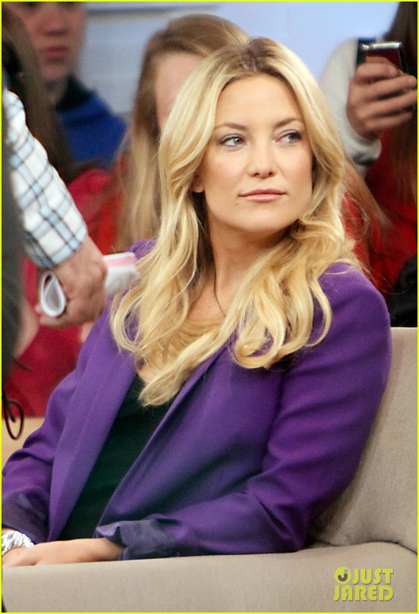 kate hudson good morning america appearance 132856568