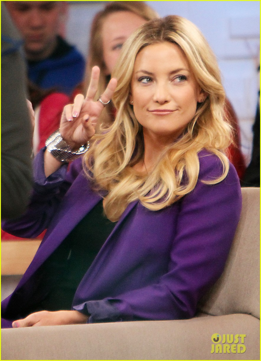 kate hudson good morning america appearance 142856569