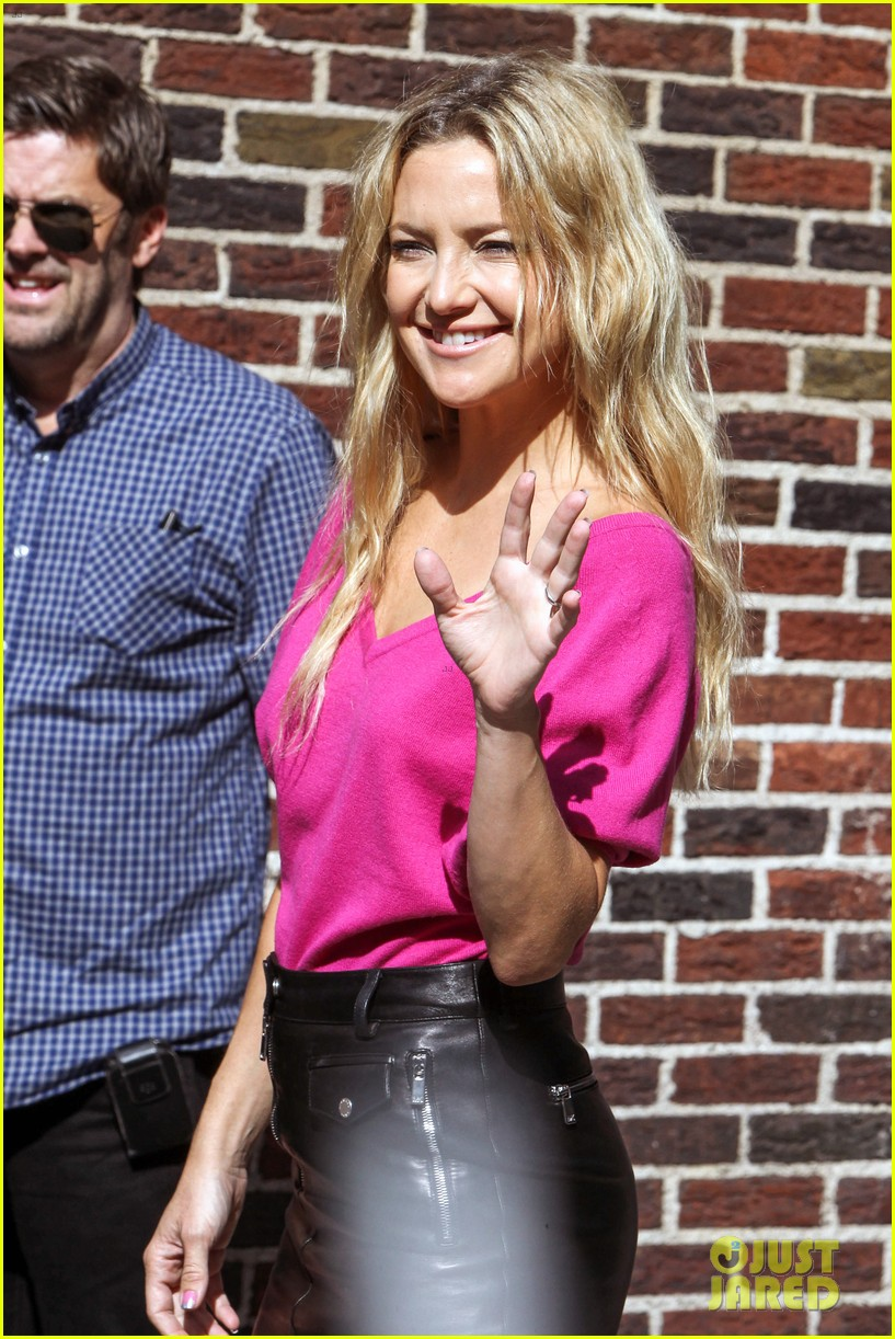 kate hudson late show with david letterman 022857407