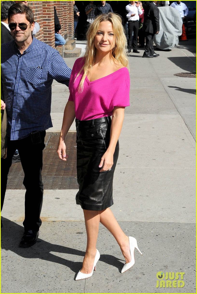 kate hudson late show with david letterman 032857408
