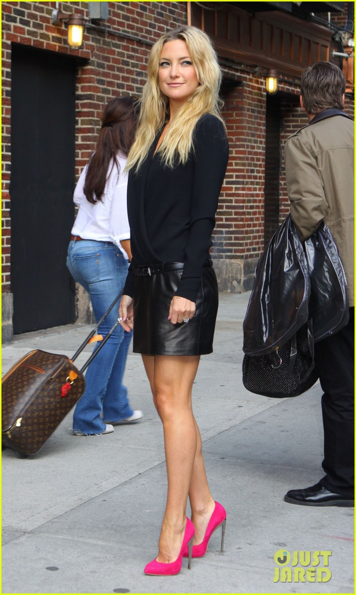 kate hudson late show with david letterman 06