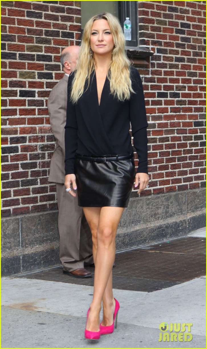 kate hudson late show with david letterman 08