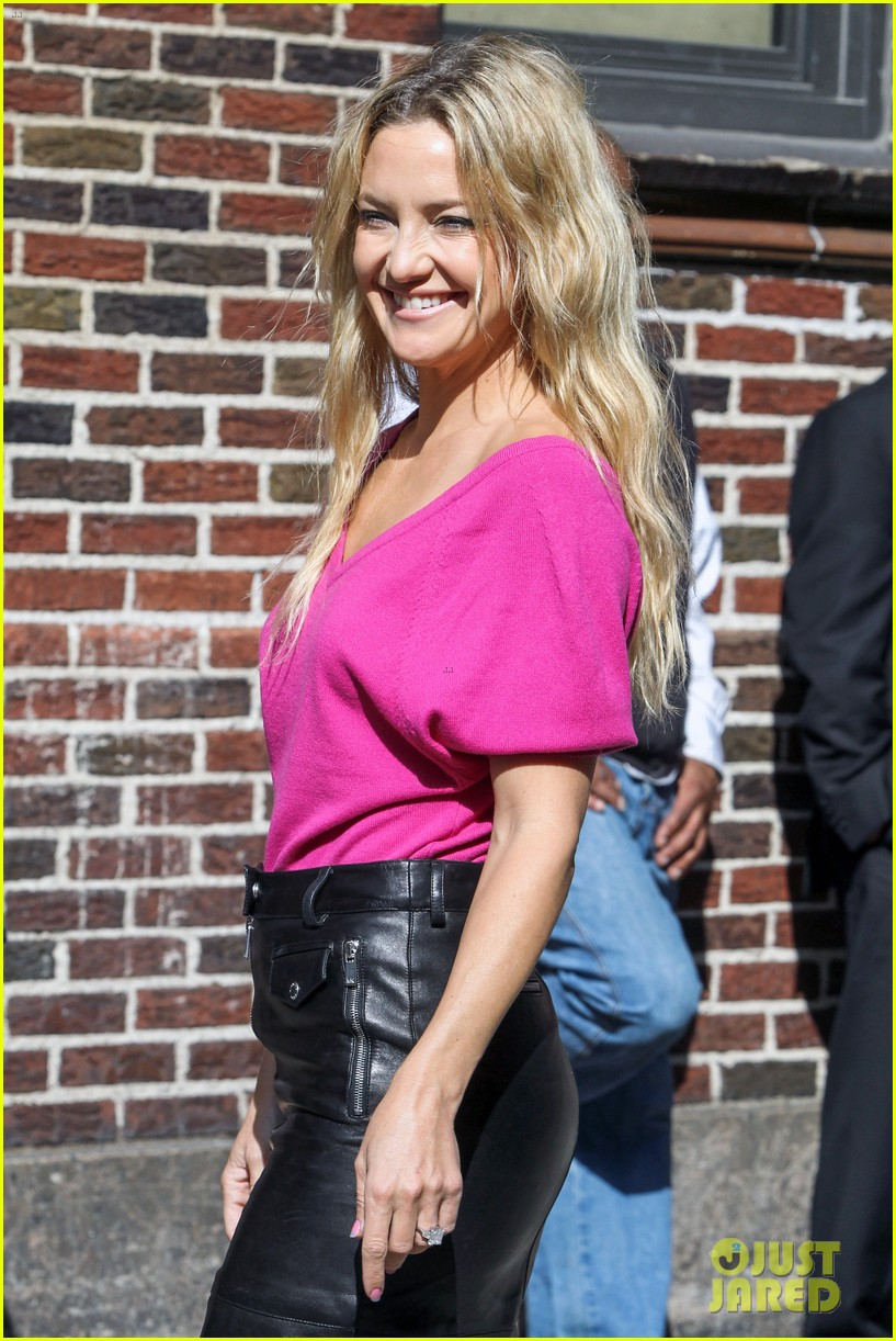 kate hudson late show with david letterman 12