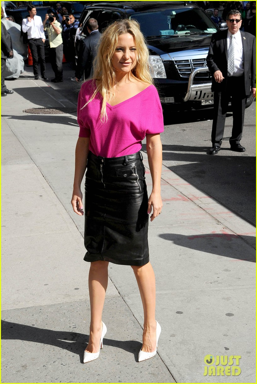 kate hudson late show with david letterman 132857418