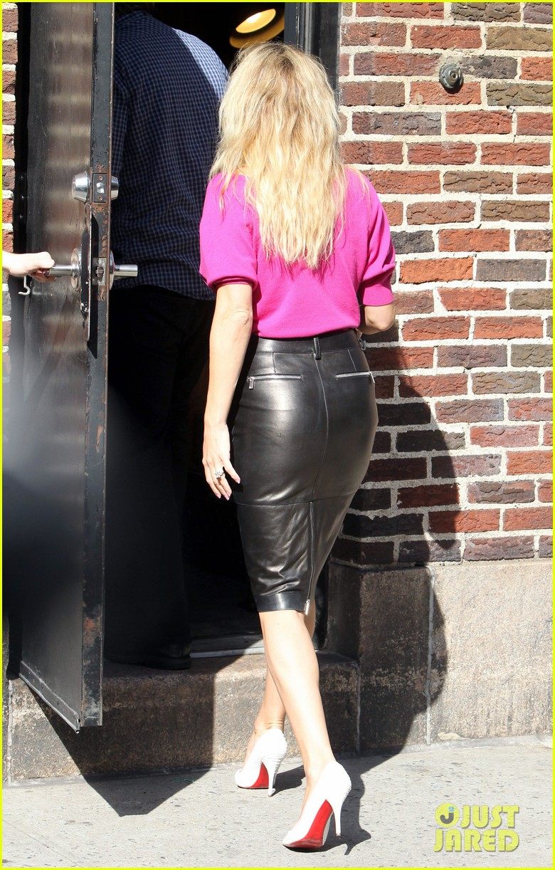 kate hudson late show with david letterman 20