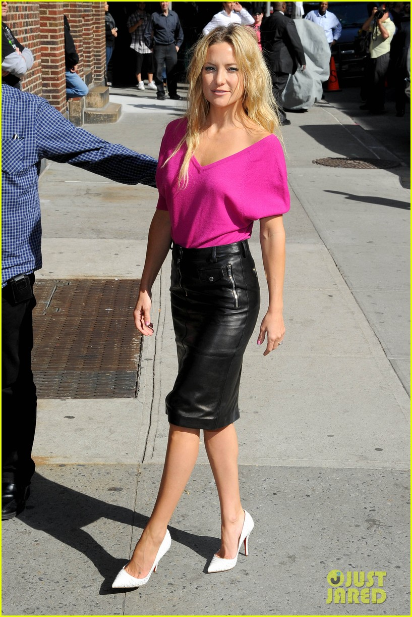 kate hudson late show with david letterman 222857427