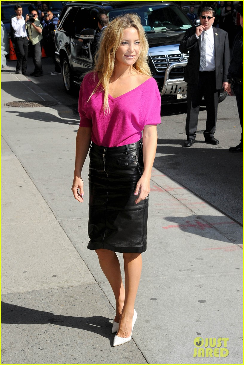 kate hudson late show with david letterman 232857428