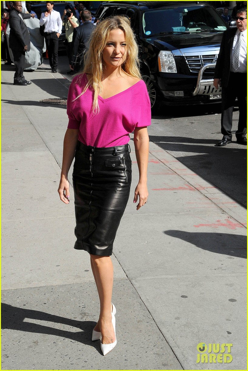 kate hudson late show with david letterman 252857430
