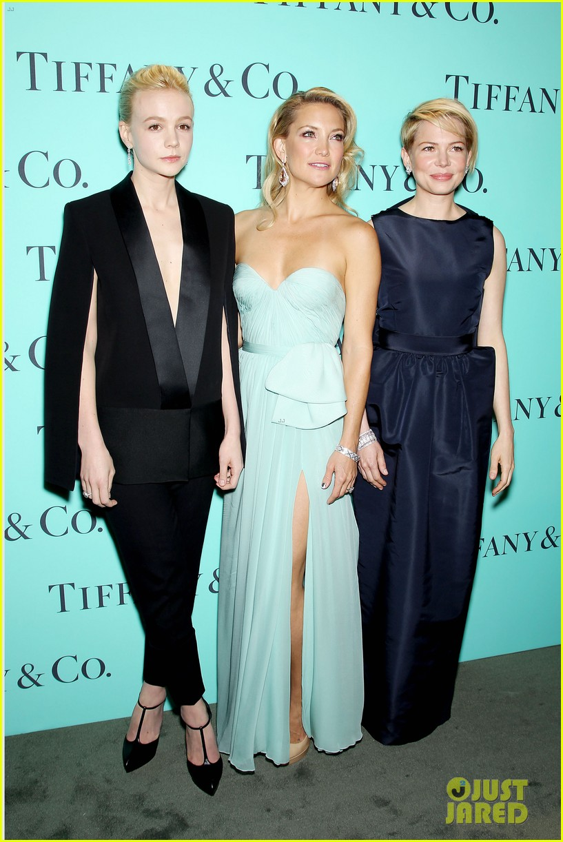 kate hudson carey mulligan tiffany blue book gala 212853106