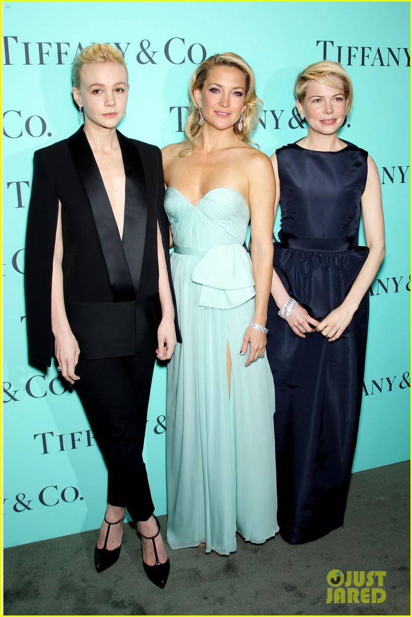kate hudson carey mulligan tiffany blue book gala 232853108