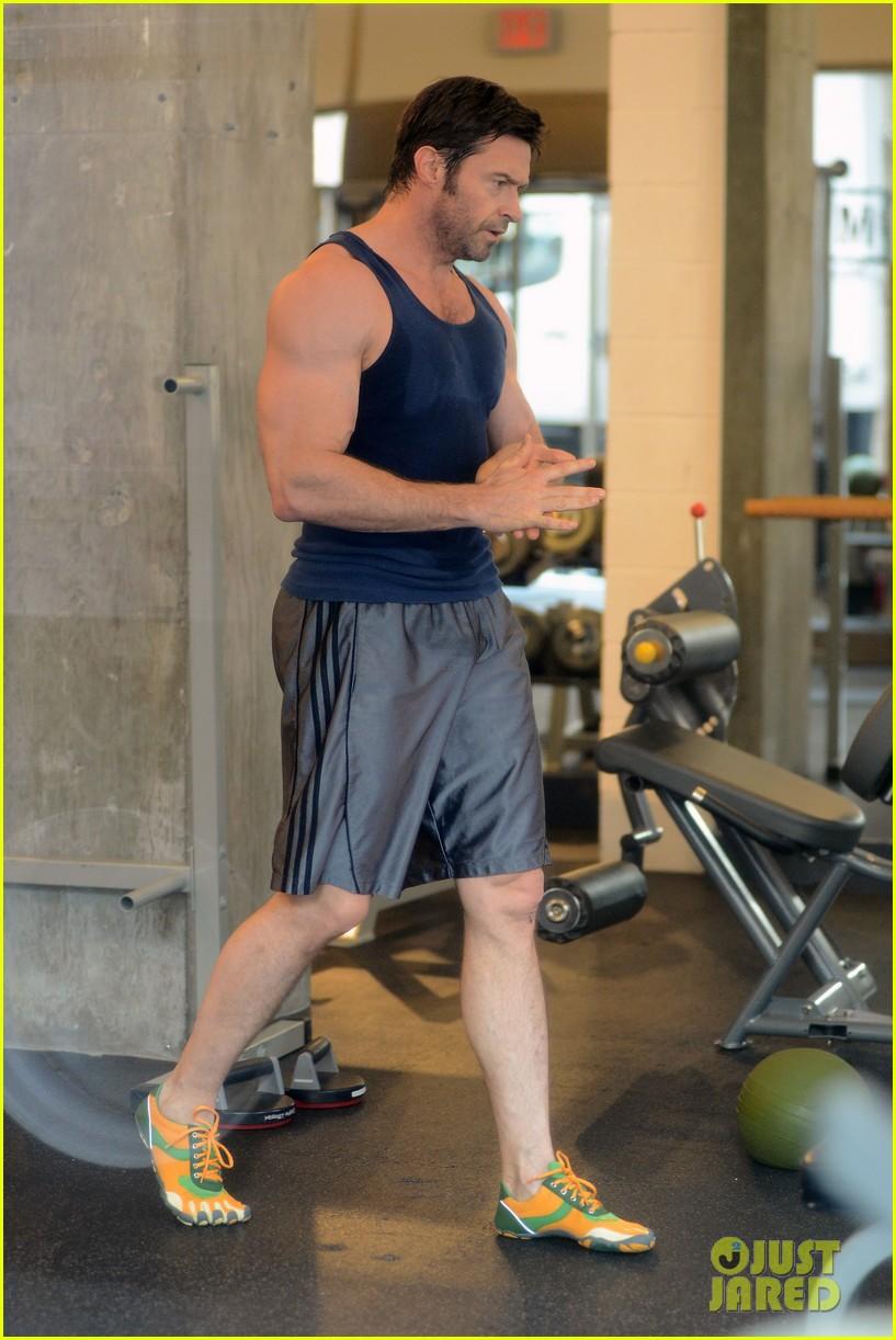 Hugh Jackman Ripped Hugh Jackman: Bulging ...